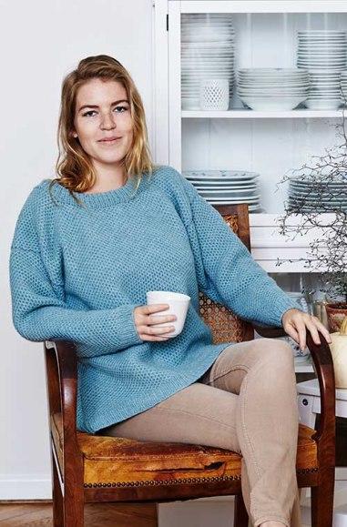 Bikubesweater Dame