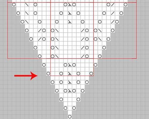 lace sjal trekant diagram med 6 rapporter og begyndelsesrapport 500 px