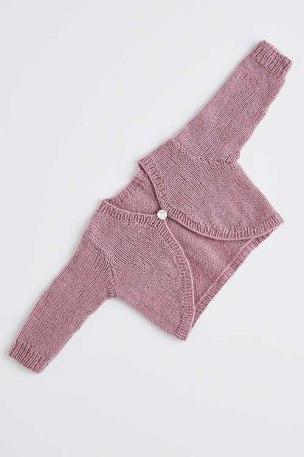 strikket babybolero II