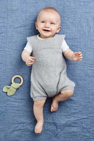 strikket babyromber