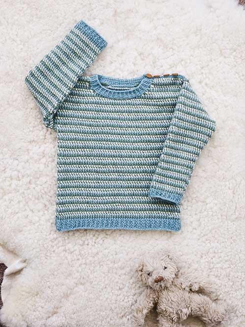 trefarvet-drengesweater